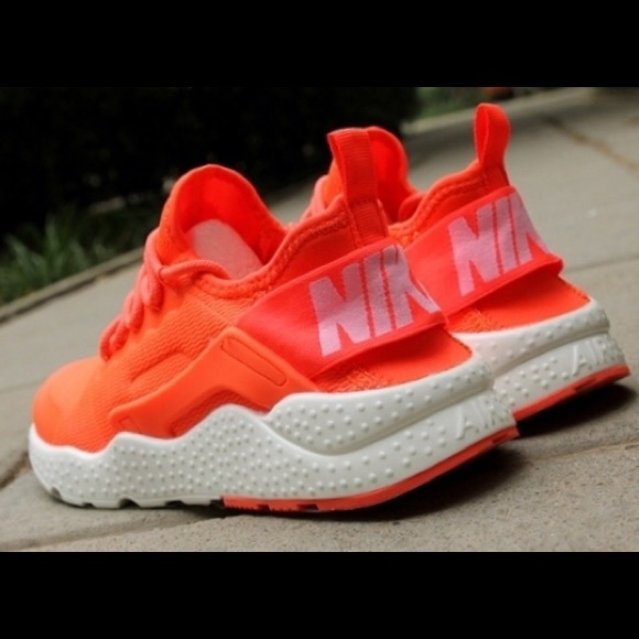 Sneakers Nike Huarache Neon Orange Pink